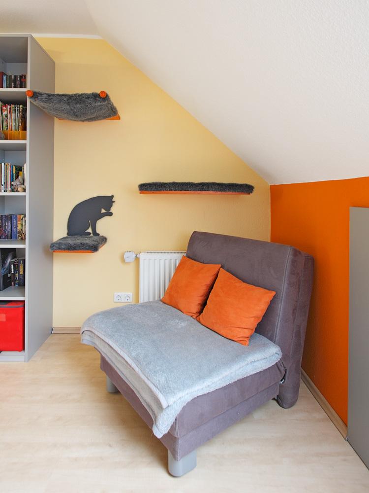 liegepl tze im dachgeschoss. Black Bedroom Furniture Sets. Home Design Ideas